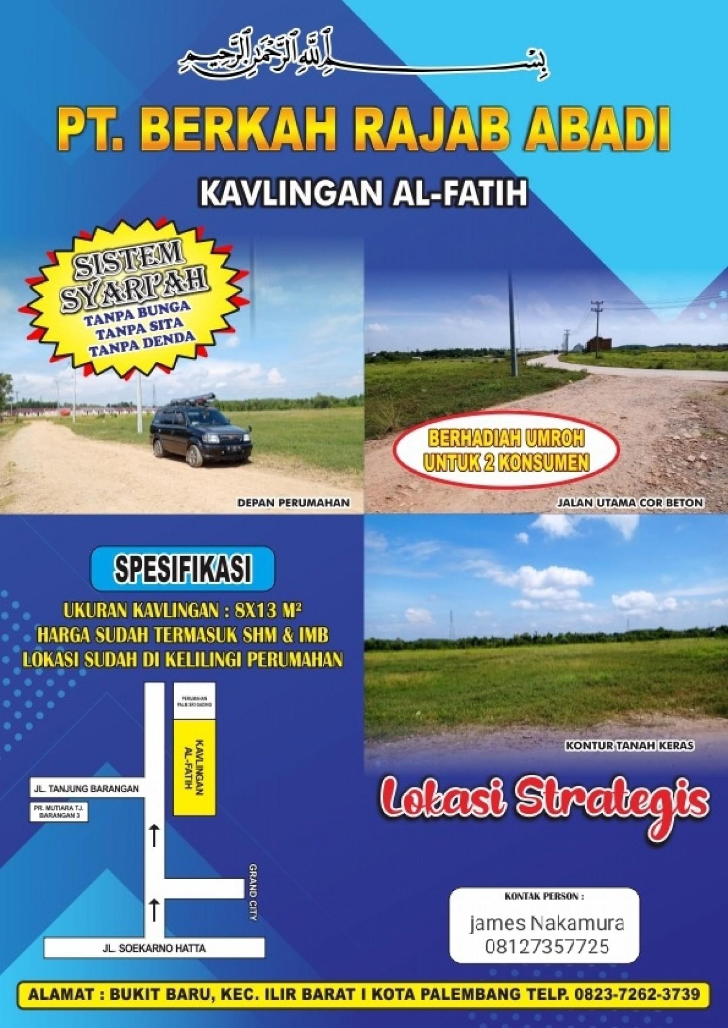 Jual Tanah Lokasi Strategis Bisa Kredit Syariah Hunungi ...