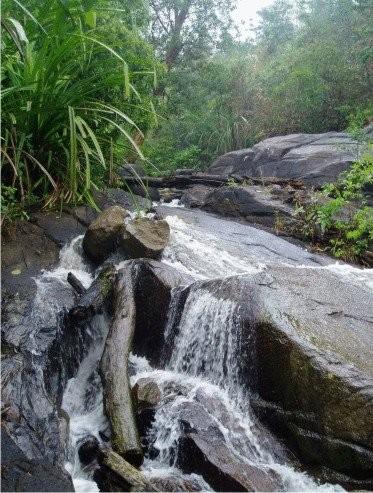 Air Terjun Gunung Pading, Desa Mayang - Bangka Selatan