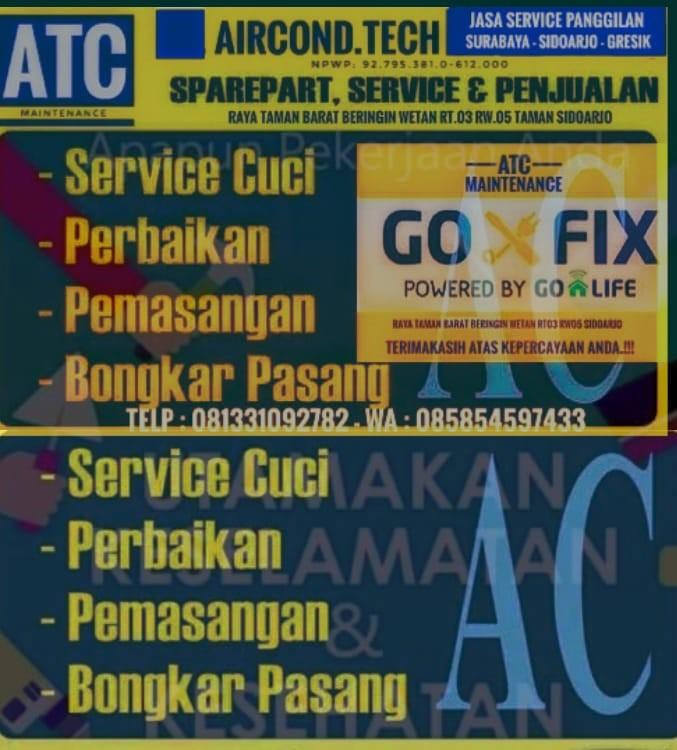 Service AC Sidoarjo AIRCOND TECH