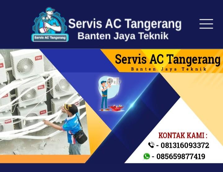 SERVICE AC TANGERANG SELATAN BANTEN JAYA TEKNIK