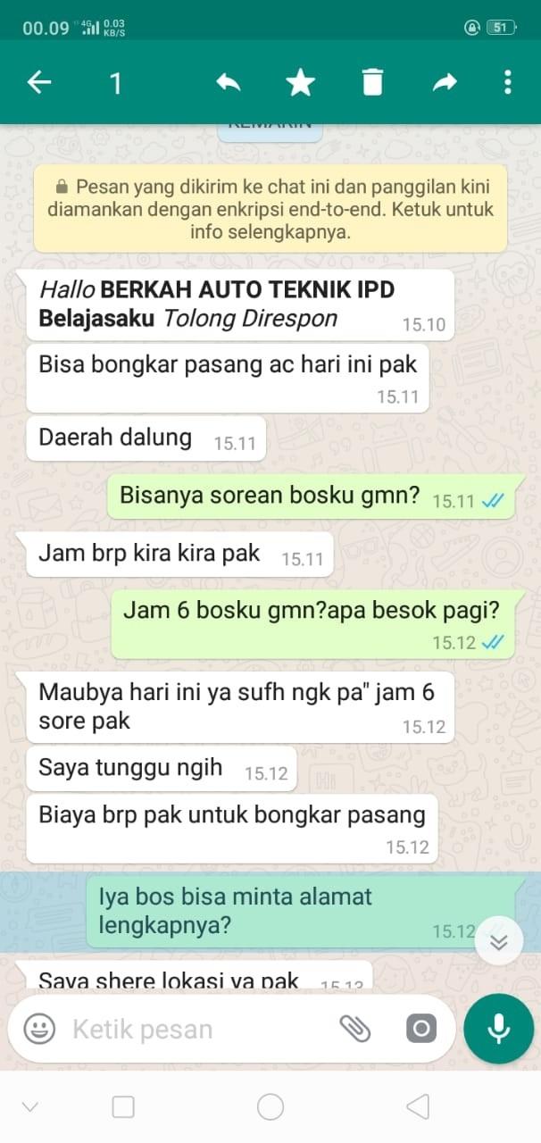 Service AC Denpasar Bergaransi | BERKAH AUTO TEKNIK