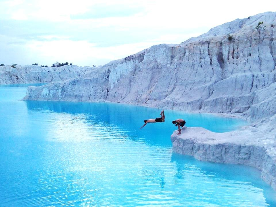 Danau Kaolin Air Bara, Desa Air Bara - Bangka Selatan