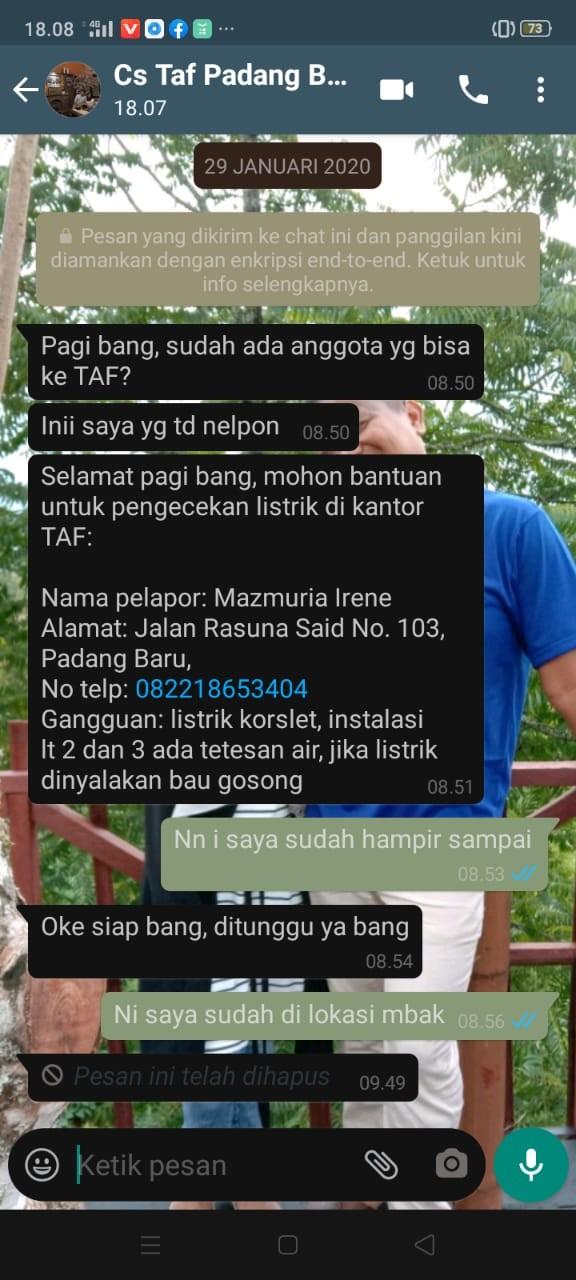 Tukang Listrik Padang F A ELECTRICAL