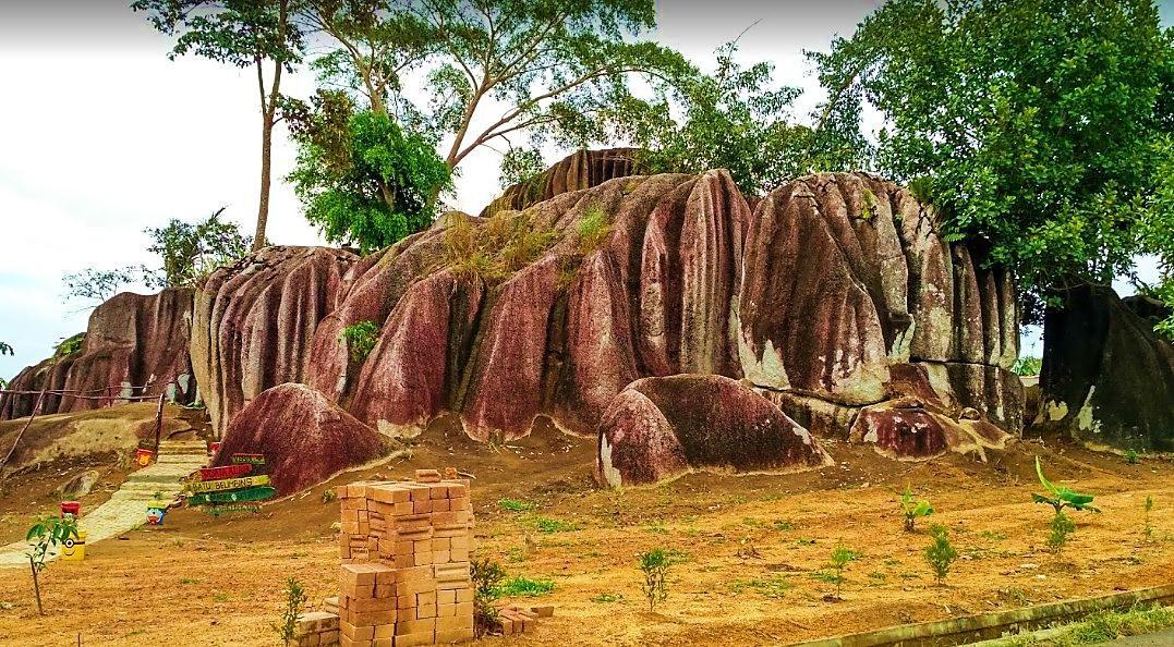 Geowisata Batu Belimbing, Toboali - Bangka Selatan