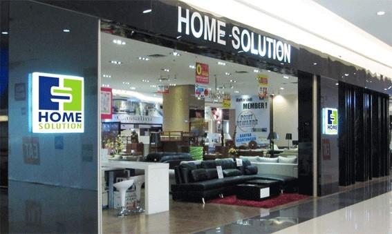 Home Solution merupakan jaringan toko retail yang menjual furniture on home solutions logo, home solutions shower curtain, isaac furniture,