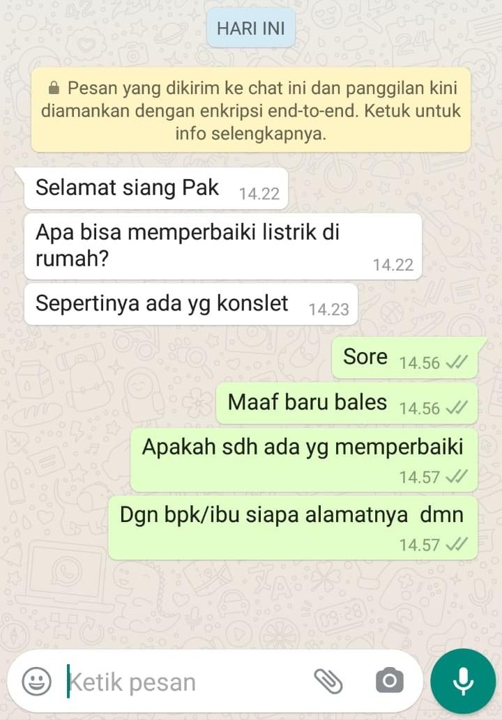 JASA INSTALASI LISTRIK JAKARTA TIMUR