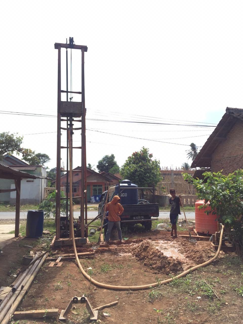 Jasa Pengeboran Sumur Dalam & Dangkal Di Lampung-CV Pradana Jaya Group