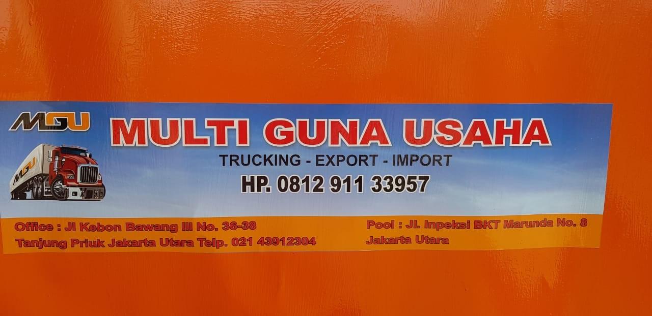 Jasa Transportasi Trucking exsport Impor PT MULTI GUNA USAHA