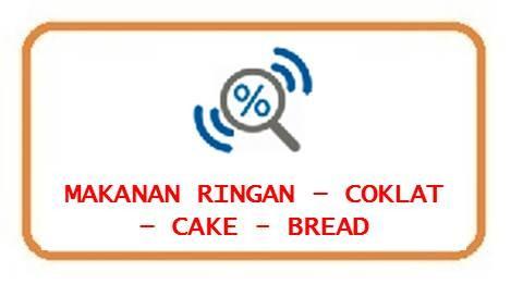 Makanan Ringan-Coklat-Cake-Bread