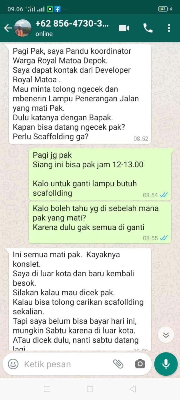 Tukang Listrik Jakarta Selatan NAWIN BANJAR TEHNIK