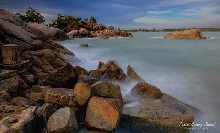 Pantai Gunung Namak, Tobali - Bangka Selatan