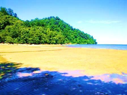 Pantai Pulau Datok Ketapang - Kayong