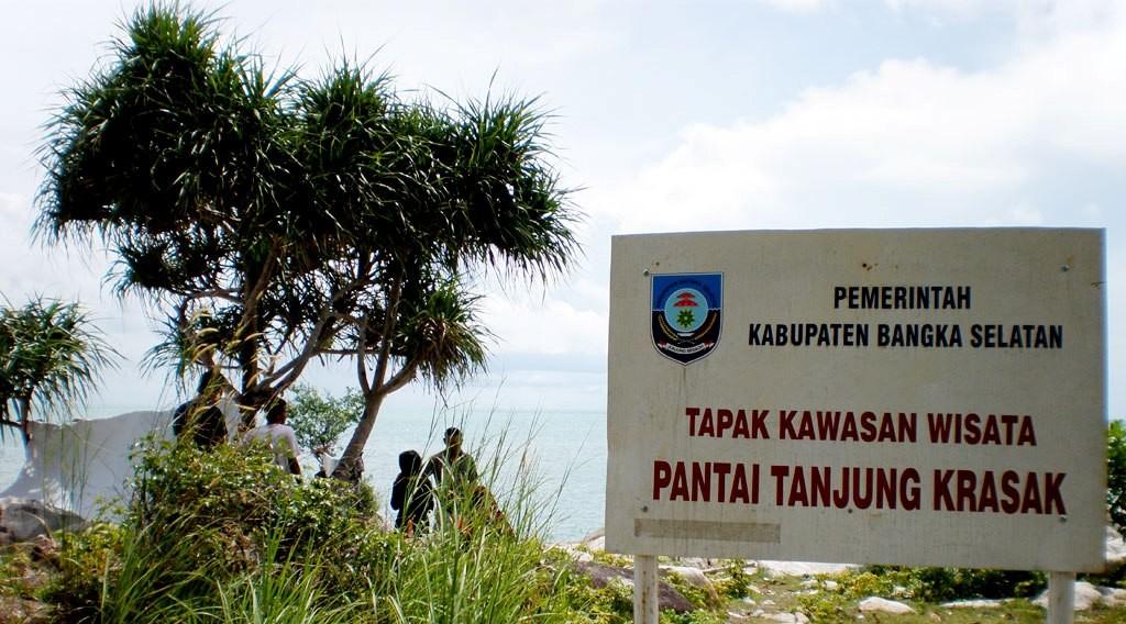 Pantai Tanjung Kerasak, Desa Pasir Putih - Bangka Selatan