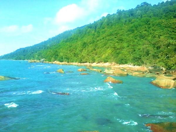 Pantai Temajuk Sambas