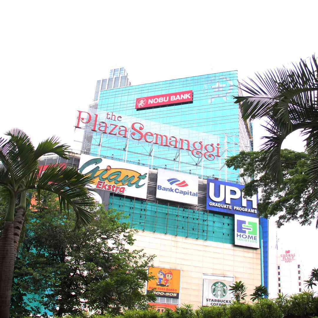 Image result for plaza semanggi