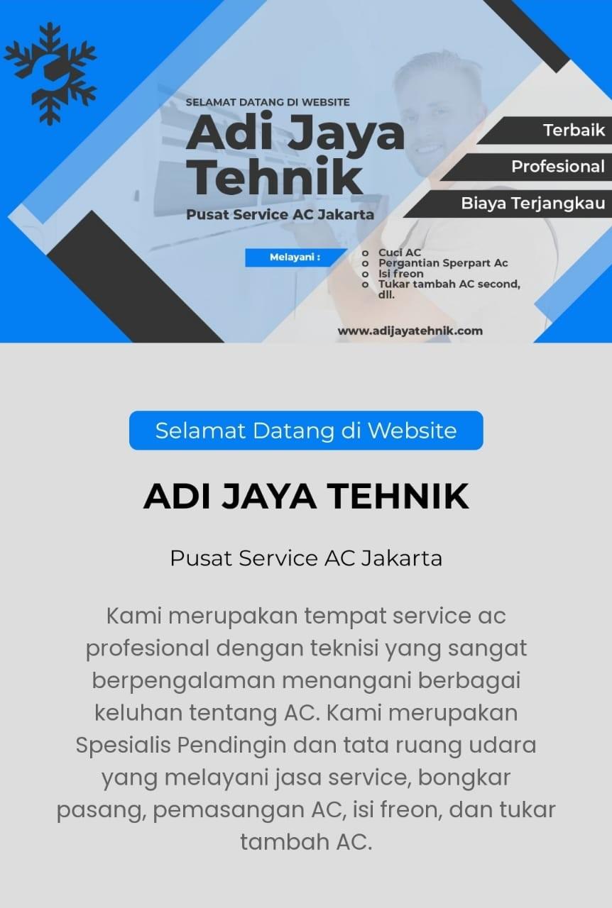 Service AC Jakarta Timur Adi Jaya Tehnik
