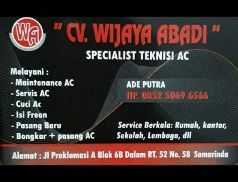 Service AC Samarinda CV WIJAYA ABADI