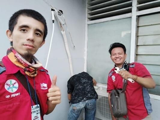 Service AC Serpong Tangerang Selatan JONI COOL TEHNIK