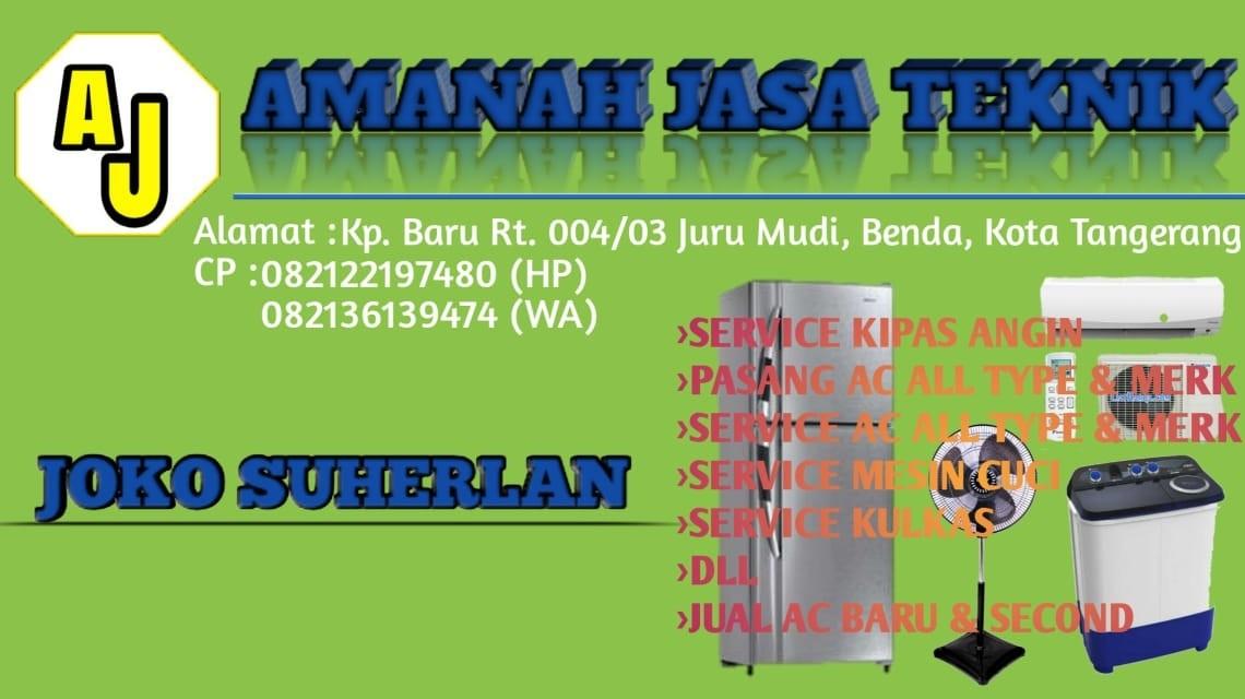 Service AC Tangerang AMANAH JASA TEKNIK