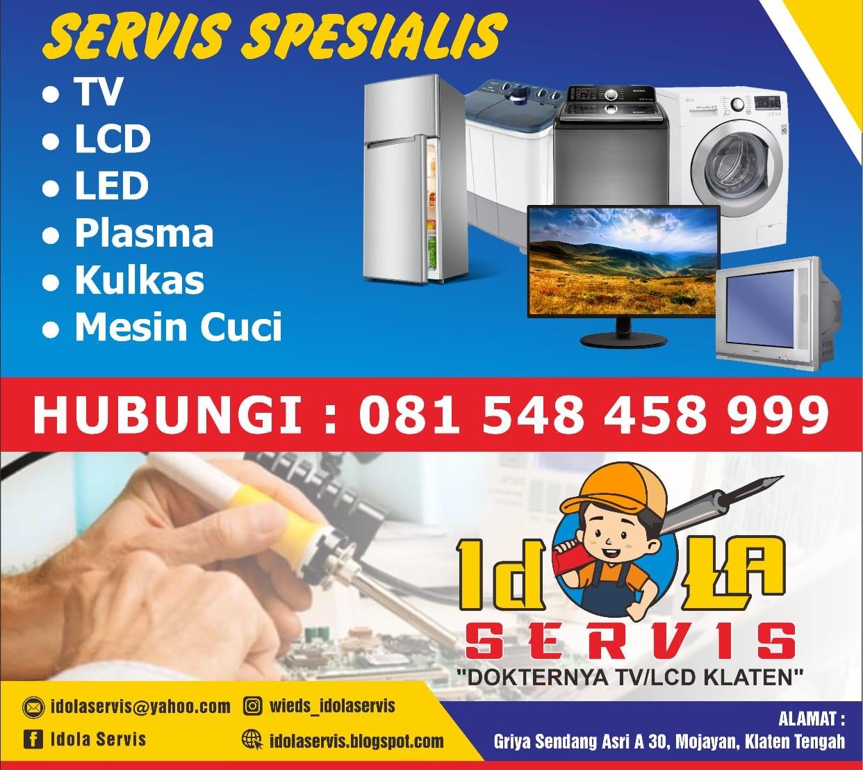Service Elektronik Klaten   IDOLA SERVIS