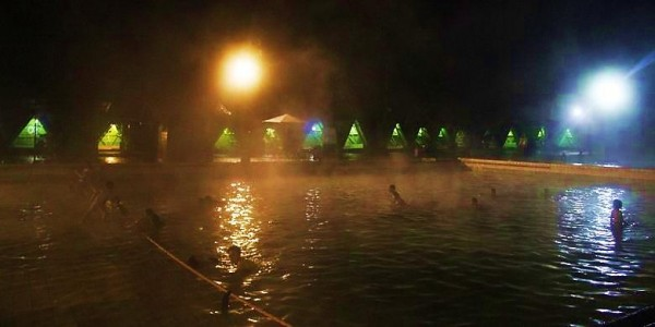 Taman Wisata Alam Air Panas Cimanggu - Bandung