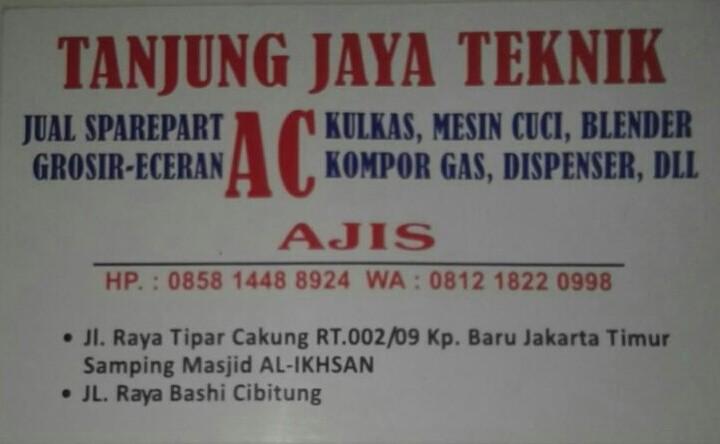 TANJUNG JAYA TEKNIK - Cakung Jakarta Timur