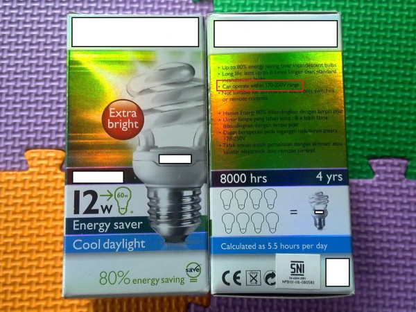 Spesifikasi Yang Perlu Anda Ketahui Dalam Memilih Lampu Hemat Energi