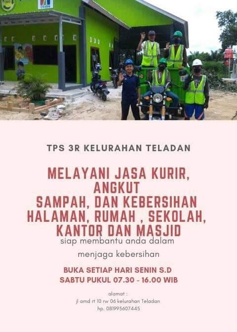 TPS 3R KELURAHAN TELADAN