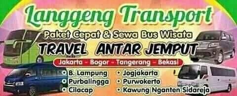 TRAVEL CILACAP JAKARTA   TRAVEL PURWOKERTO JAKARTA   SEWA BUS WISATA CILACAP LANGGENG TOUR & TRAVEL