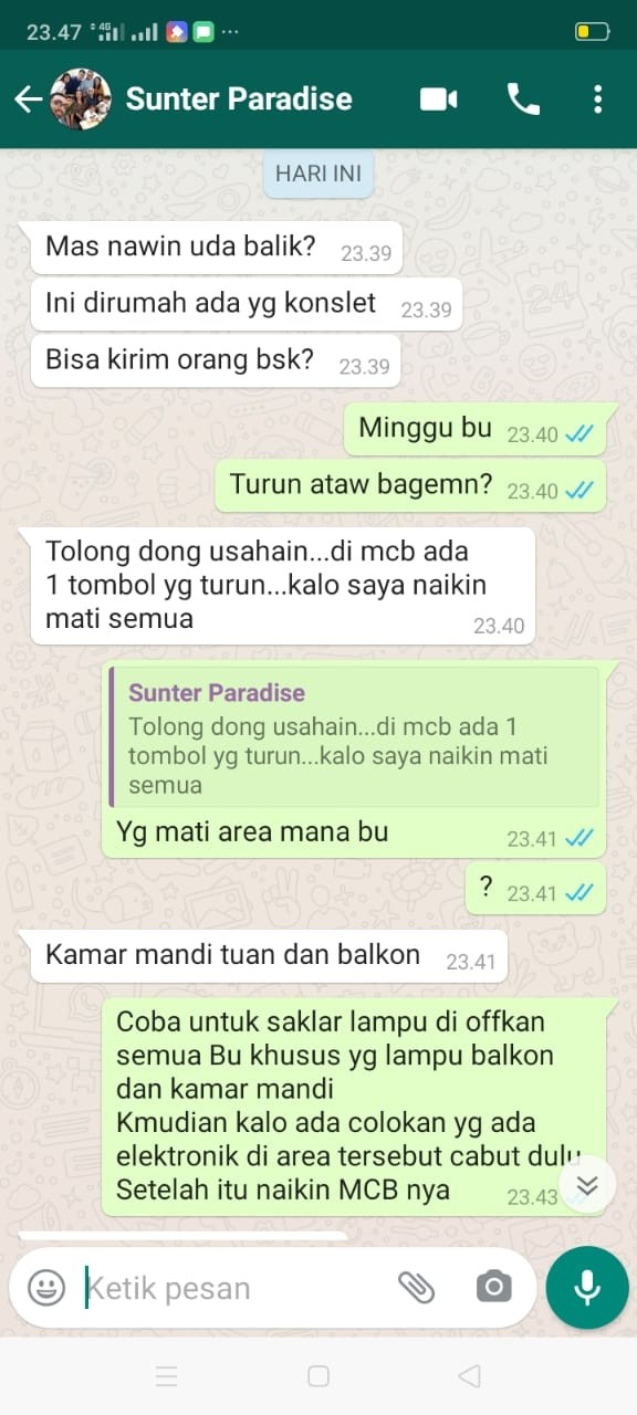 TUKANG LISTRIK PANGGILAN JAKARTA SELATAN | NAWIN BANJAR TEHNIK