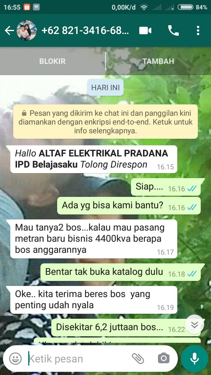 Tukang Listrik Kebumen ALTAF ELEKTRIKAL PRADANA